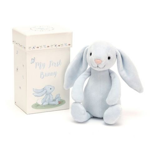 Jellycat My First Bunny Gift Box - Blue