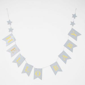 Baby Shower Party Paper Bunting - Hello Baby