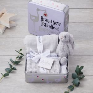 Brightside Brand New Bundle of Happiness Gift Tin