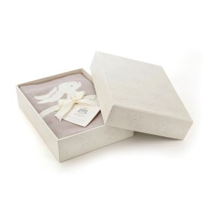 Jellycat Beige Bashful Bunny Luxury Blanket Gift Box