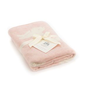 Jellycat Pink Bashful Bunny Luxury Blanket Gift Box