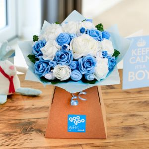 Medium Baby Clothes Bouquet Baby Boy