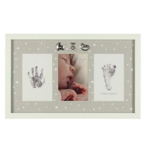 Bambino Personalised Hand and Foot Print Photo Frame