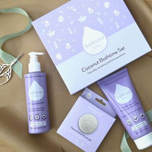 Kokoso Baby Award Winning Coconut Bathtime Set