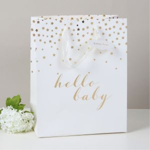 Hello Baby Large Gift Bag
