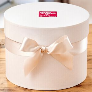 Luxury Hatbox style Keepsake Giftbox -Large