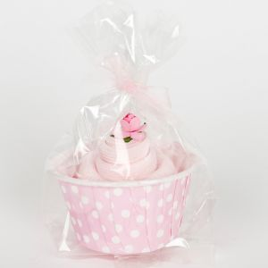 Single Pair Baby Socks Cupcake for a Baby Girl