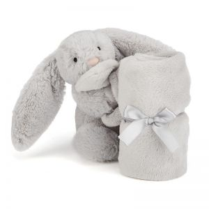 Jellycat Bashful Silver Bunny Soother 33cm