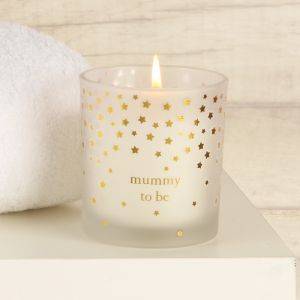 Mum To Be Luxury Gold Star Scented Candle Gift Box