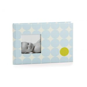 Pearhead Small Memories Book, Blue Dots
