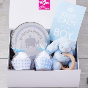 Keep Calm it's a Boy Luxury Gift Box