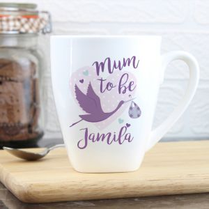 Personalised Mum To Be Latte Mug