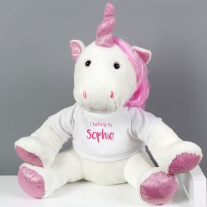 Personalised ' I Belong To' Unicorn