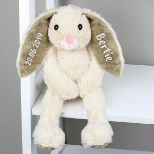 Personalised Bunny Ears Soft Toy