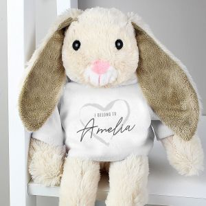 'I Belong To' Personalised Bunny Rabbit