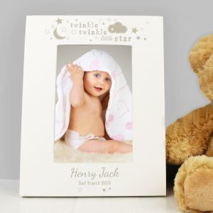 Personalised Twinkle Twinkle Photo Frame