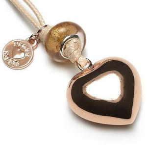 Designer Babybell Maternity Jewellery Gift from Proud Mama - Rose Heart